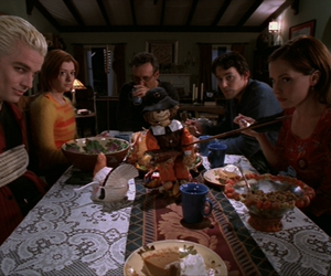 buffy, spike, and willow image