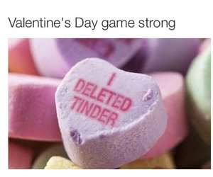goals, valentines day, and tinder image