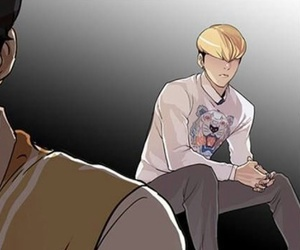 lookism, manhwa, and webtoon image