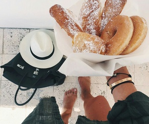food, fashion, and donuts image