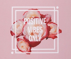 pink, positive, and wallpaper image