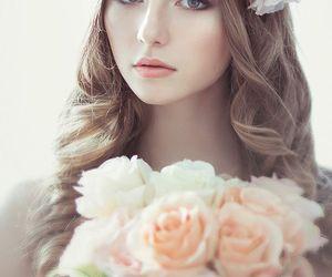 wedding, beautiful, and flower image