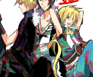cloud strife, final fantasy, and final fantasy VII image