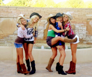country, Cowgirl, and girl image