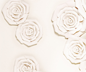 decor, delicate, and flowers image