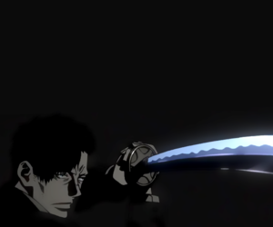 anime, background, and gangsta image