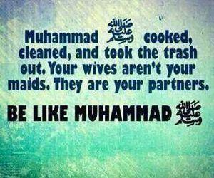 equality, partners, and prophet muhammad (pbuh) image