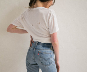 fashion, mom jeans, and mum jeans image