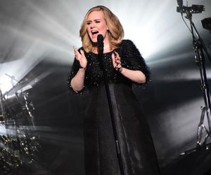 Adele and live image