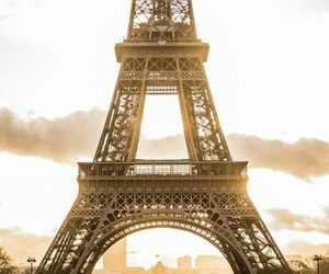 background, good morning, and tour eiffel image