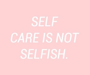 quotes, self care, and pink image