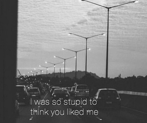 stupid, sad, and quotes image