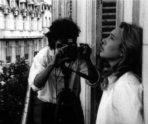 black and white, photography, and louis garrel image