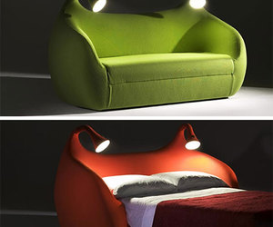 sofa, bed, and cool image