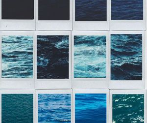 blue, sea, and ocean image