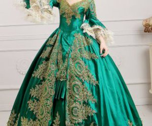 marie antoinette dress, dance dress, and palace dress image