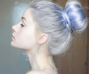 blue, silver, and fashion image