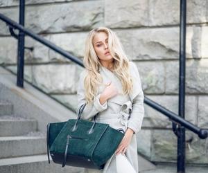 beauty, skinny girl, and celine bag image