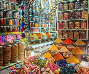 beauty, colors, and spices image