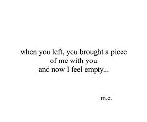 broken, heartbreak, and lost image