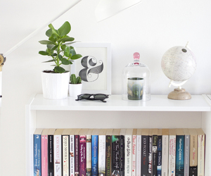 blogger, bookshelve, and inspo image
