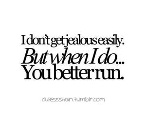 jealous and text image