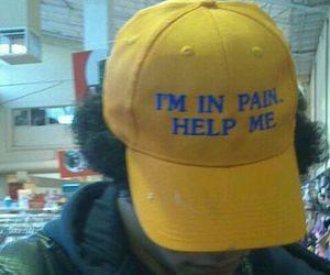 pain, yellow, and sad image