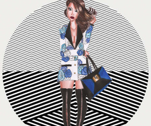 drawing, fashionillustrator, and gufontinelly image