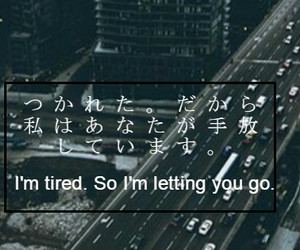 broken, japanese, and quotes image