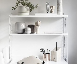 white and desk image