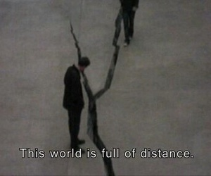 distance, quotes, and world image
