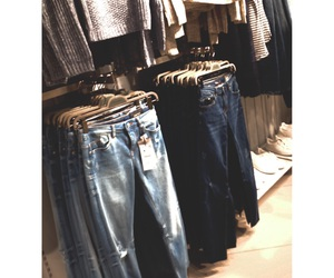 Bershka, fashion, and jeans image