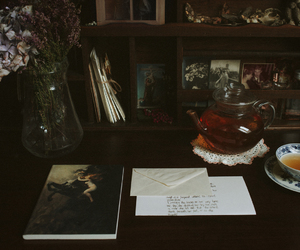 tea, books, and photography image