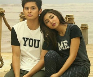 nadine lustre, james reid, and jadine image