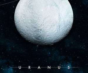 Uranus, planet, and space image