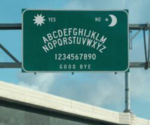 grunge, ouija, and sign image