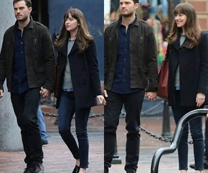 christian grey, fifty shades darker, and Jamie Dornan image