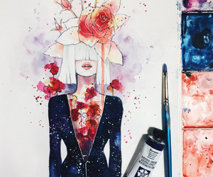 art, ️sia, and painting image