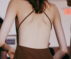 backless, brown, and hair image