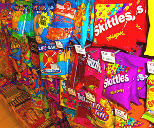 candy, skittles, and photography image