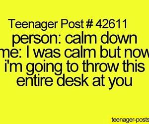 teenager post, calm, and teens image