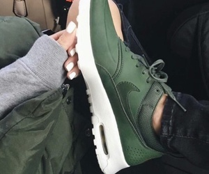 green and nike image