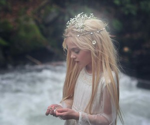 fairy, beauty, and child image