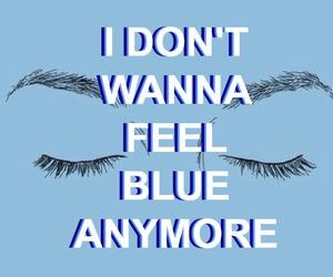 blue, marina and the diamonds, and Lyrics image