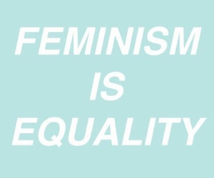 education, equality, and feminism image