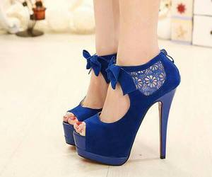 blue, shoes, and tacones image