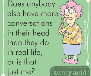 funny and aunty acid image