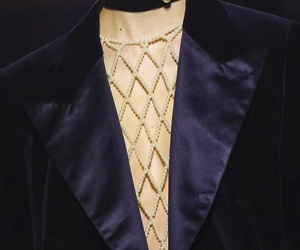 blazer, collar, and Couture image