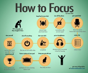 focus, study, and tips image