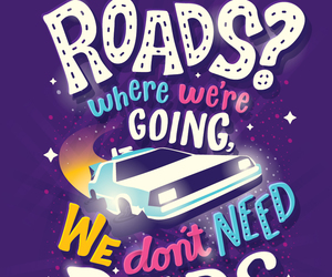 Back to the Future, 80's, and quotes image